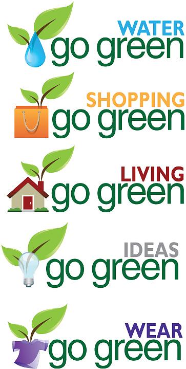 Go Green Logos