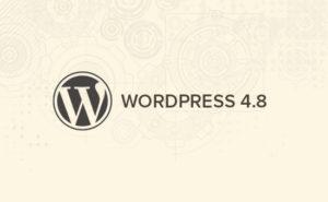 Wordpress 4.8 text graphic