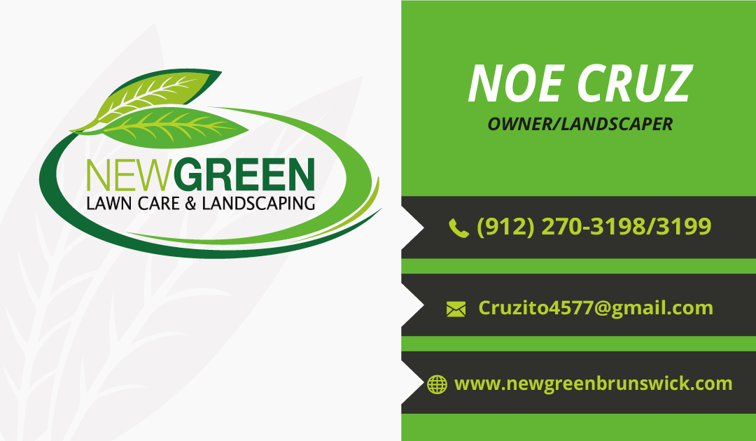 New Green Lawncare & Landscaping Branding and Collateral