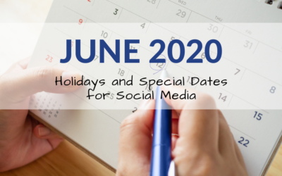 June 2020 Holiday and Special Days