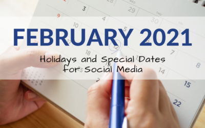 February 2021 Holiday and Special Days