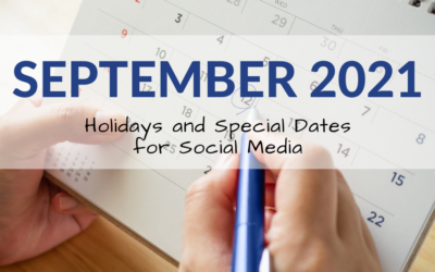 September 2021 Holiday and Special Days